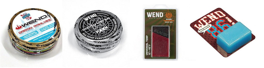 WEND Daron Rahlves, Kazu Kokubo and Ryan Paul signature waxes