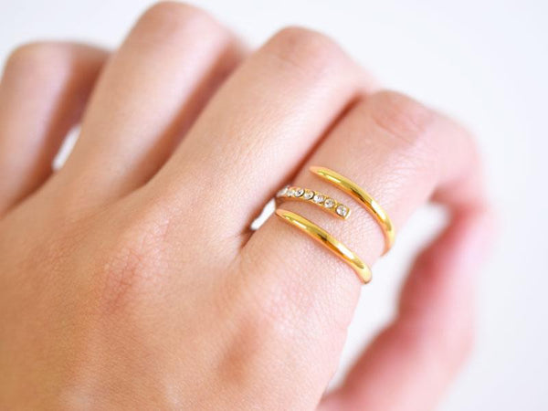 新CRYSTAL WRAP RING | masae