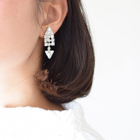 FISHBONE EARRINGS - masae