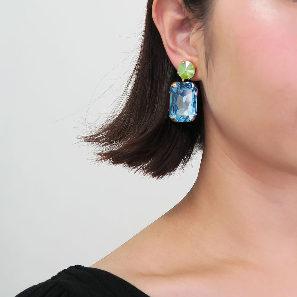 SAHRA EARRINGS | SAHRA CLIP ON EARRINGS - masae