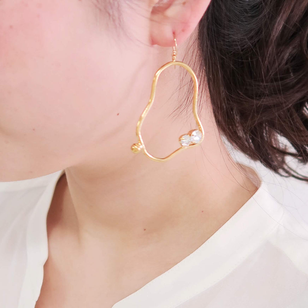 CLAY BIJOUX PIERCE -S | CLAY BIJOUX EARRING - masae