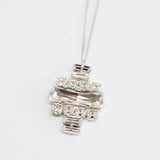BLOCKS NECKLACE - masae