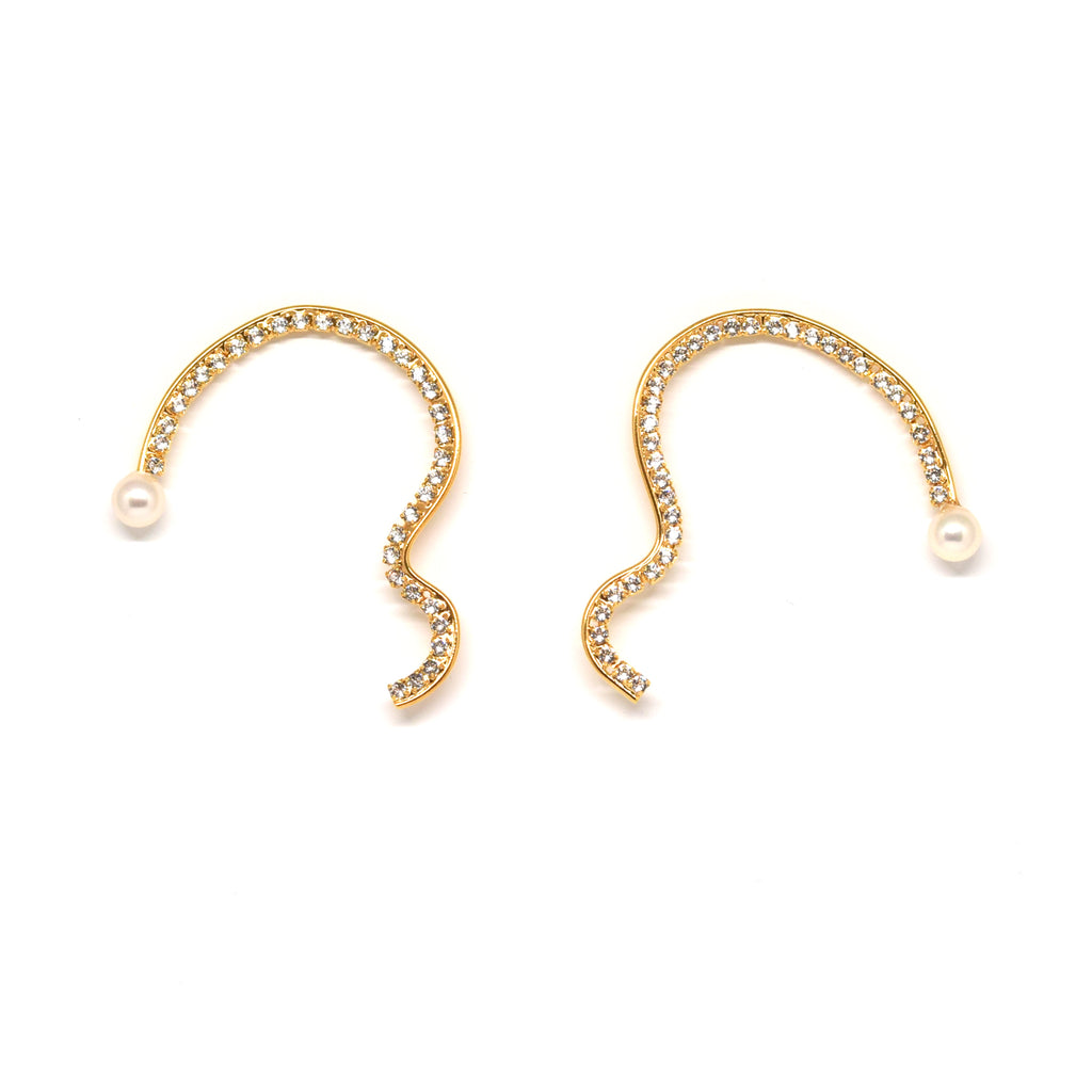 HILI EARRINGS | HILI CLIP ON EARRINGS - masae