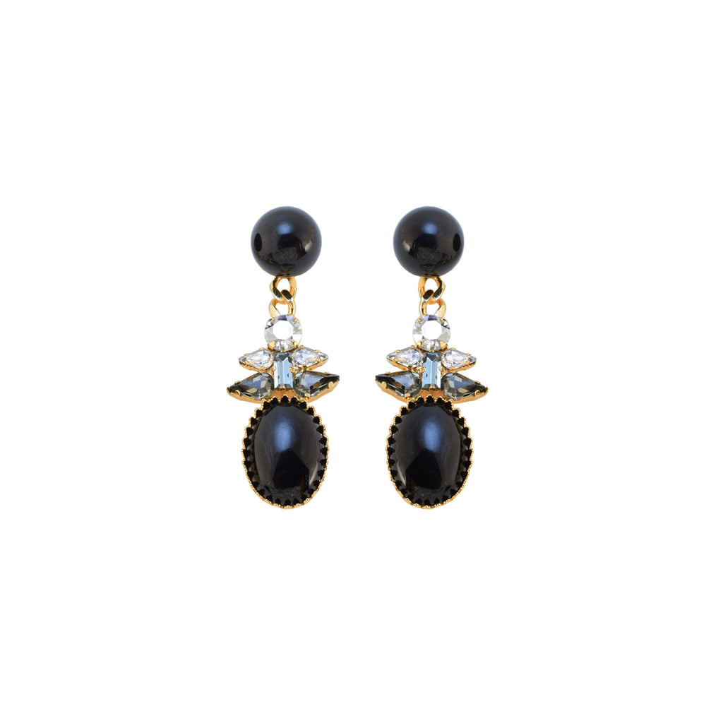 JET PIERCES | JET EARRINGS - masae