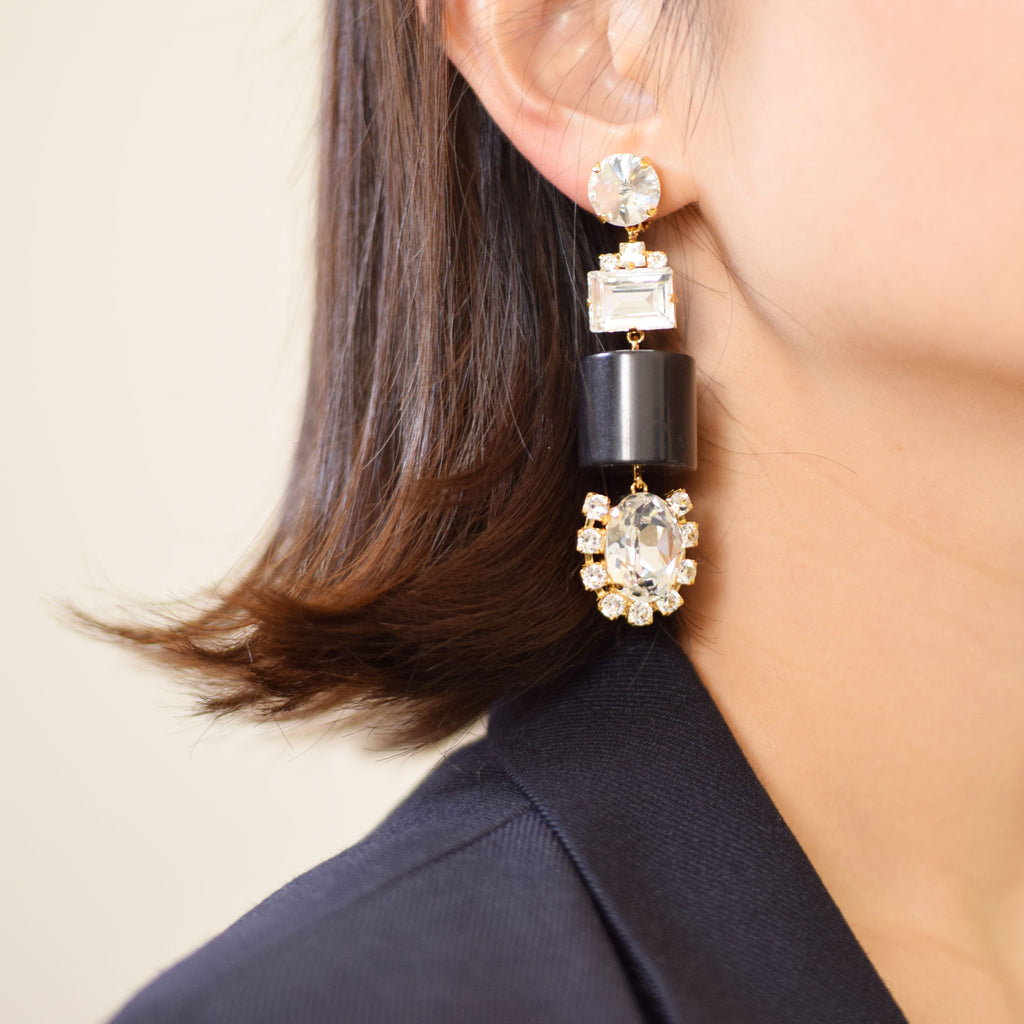 LAIA EARRINGS | LAIA CLIP ON EARRINGS - masae