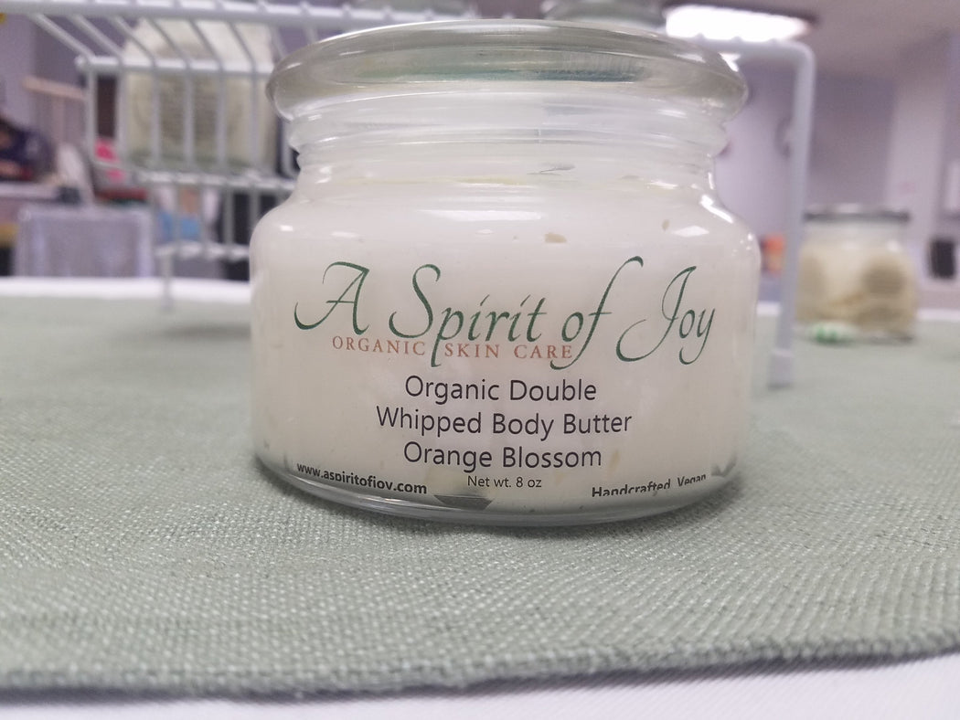 Organic Double Whipped Body Butter - Orange Blossom