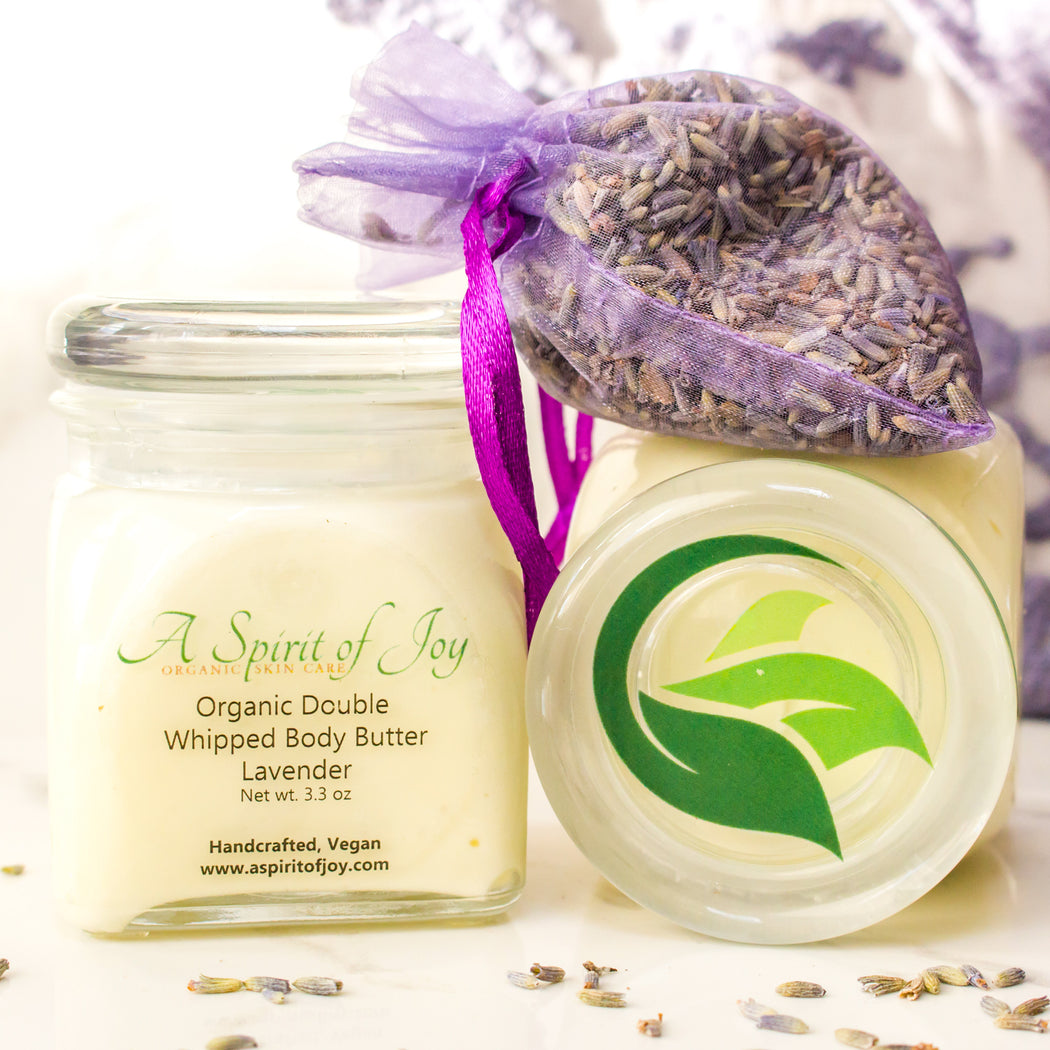 Organic Double Whipped Body Butter - Lavender