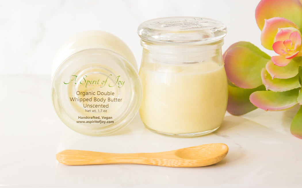 Organic Double Whipped Body Butter - Unscented