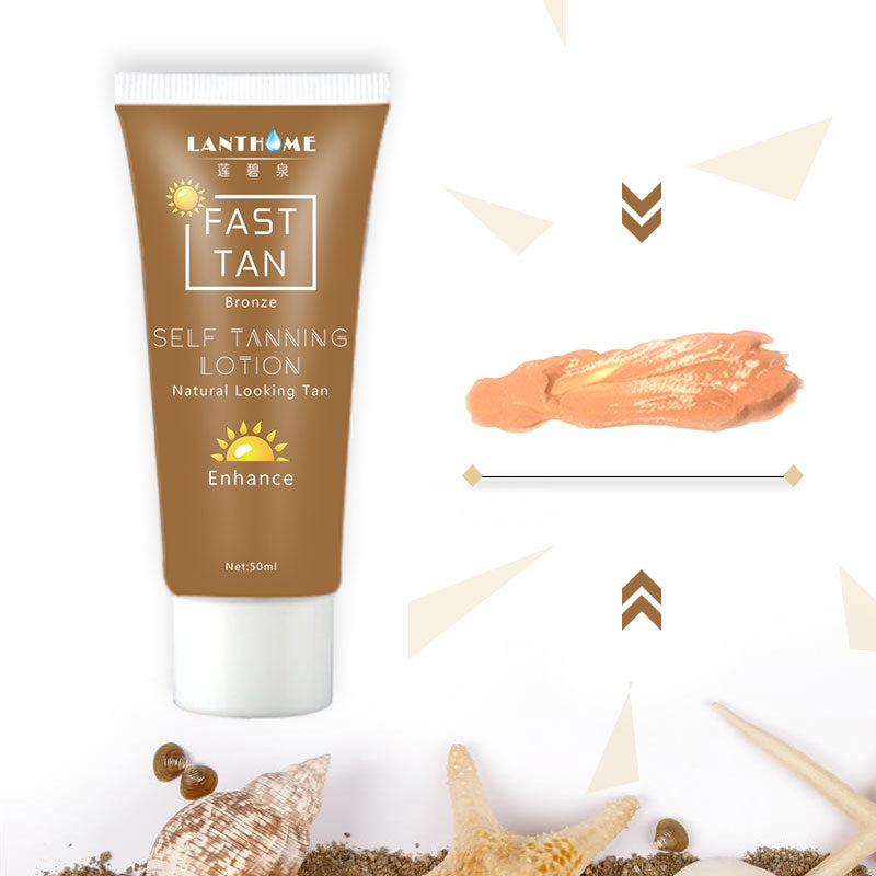 Bronze Self Sun Tanning Enhance Lotion Day tanning cream in body natural lotion Suntan Cream skin Natural darken