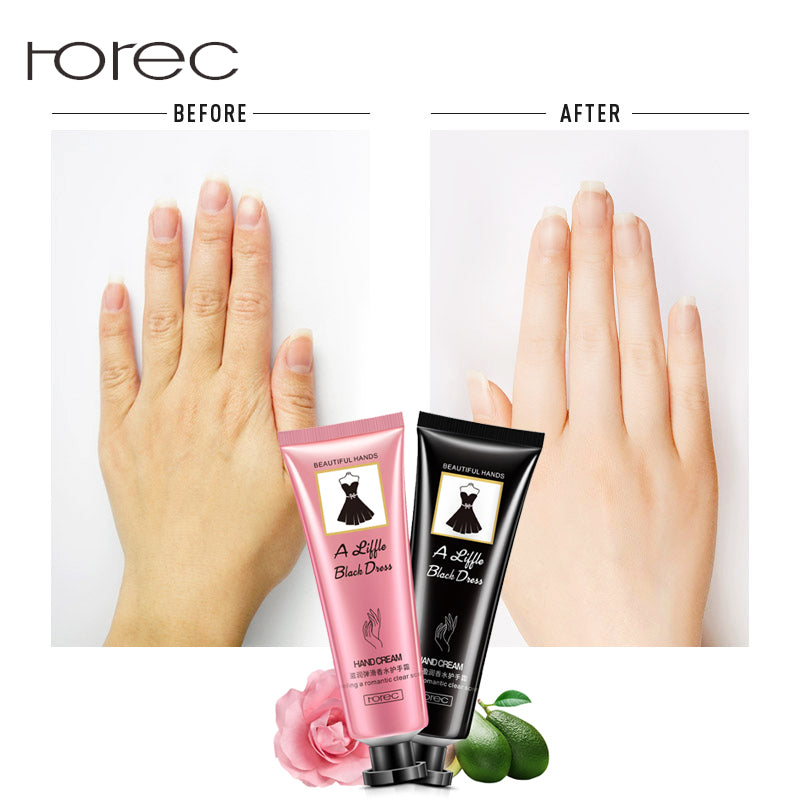 ROREC Perfume Hand Cream Hand Skin Lotion Care Anti Aging Repair Whitening Nourishing Ageless Anti Chapping Hydra Care Cream