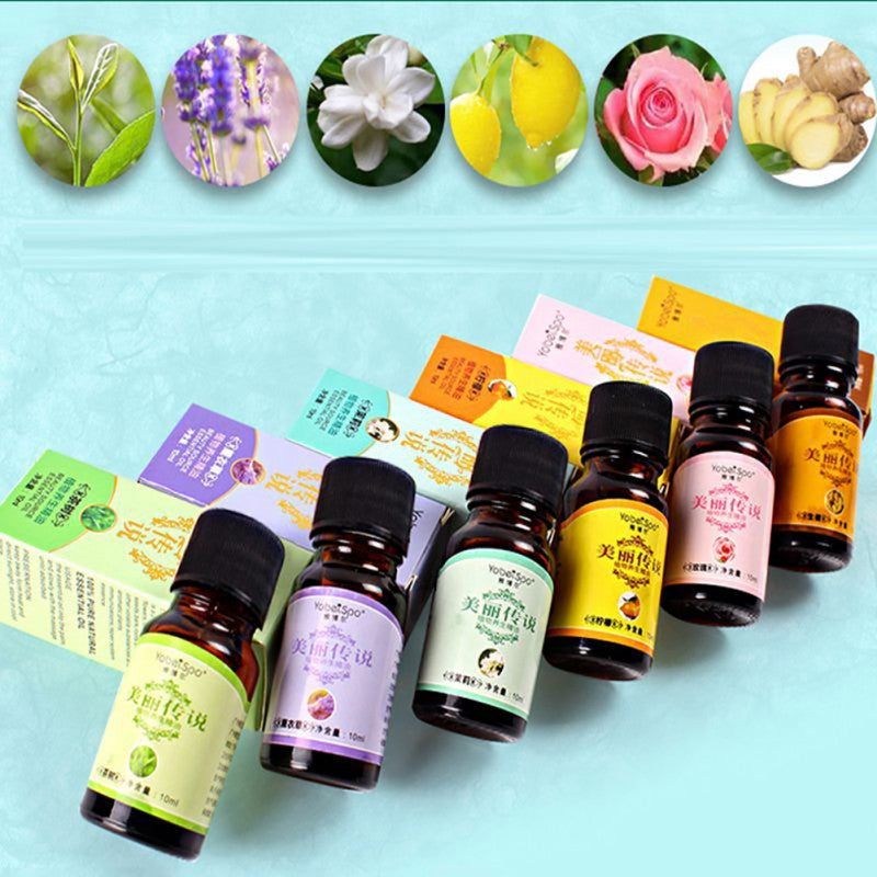 10ml Essential Oils Organic Body Massage Relax Fragrance Oil Skin Health Care  Aromatherapy Diffusers Pure Essential Oils
