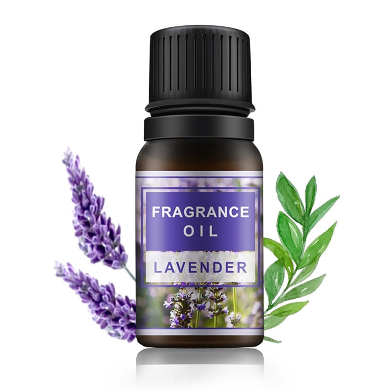 10ml Plant Aromatherapy Essential Oils Cleanser Anti-Wrinkle Grease / Tea Tree / Lemon / Rosemary / Mint /Lavender Oil