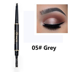 New Brand Eye Brow Tint Cosmetics Natural Long Lasting Paint Tattoo Eyebrow Waterproof Black Brown Eyebrow Pencil Makeup Set