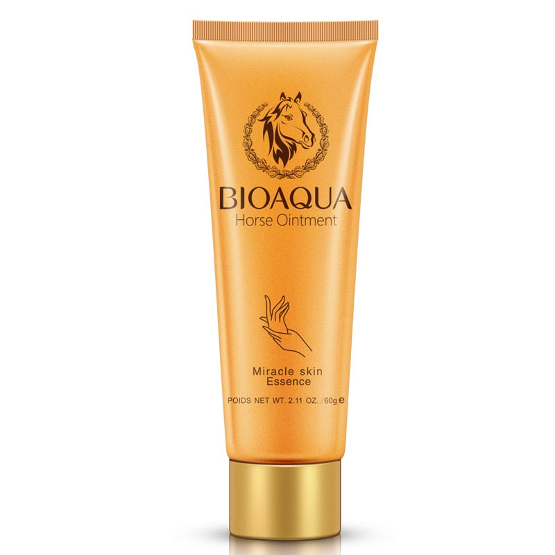 BIOAQUA Horse Ointment Miracle Moisturizing Hand Cream Anti Aging Whitening Anti-chapping Hand Lotion Creams for Hands Skin Care