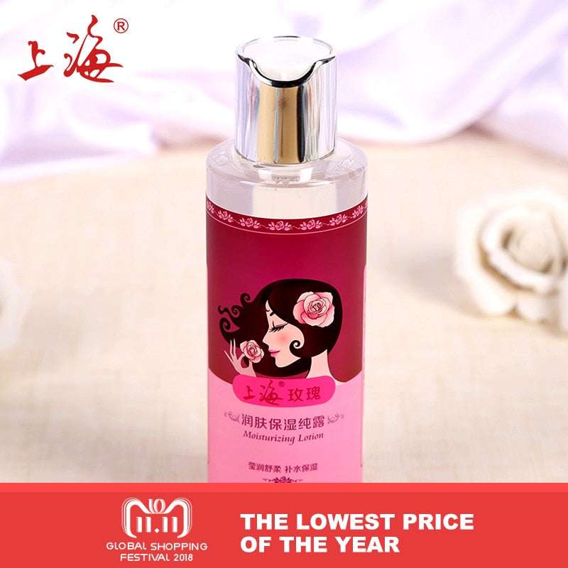 Rose Whitening hydrating hydrosol Whitening moisturizing rose essence Toner gel anti-wrinkle anti-aging makeup
