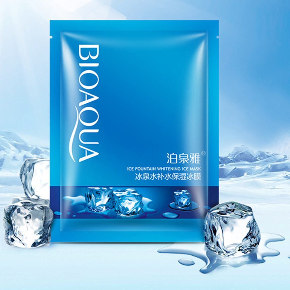 Ice Face Mask Hyaluronic Acid Face Care Moisturizing Whitening Oil Control korean cosmetics