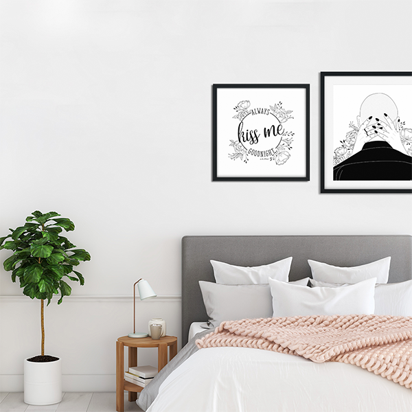 The Optimist - Tips & Tricks to Re-Style your Rented Home - Gallery Wall - Art Prints