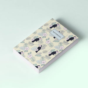 Notebook / Yellow Forest Pattern-The Optimist