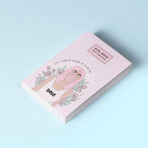Notebook / Girl Boss Notebook Pink-The Optimist