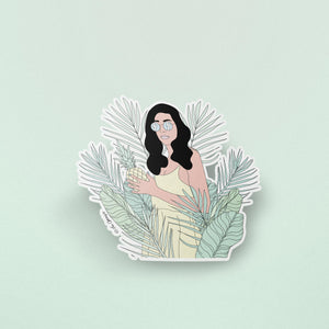 The Optimist Shop - Stickers / Queen Of The Jungle - Stickers