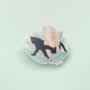 The Optimist Shop - Stickers / Animal Instinct - Panther - Stickers