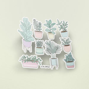 The Optimist Shop - Stickers / The House Plants Guide - Stickers