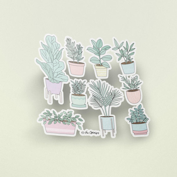 Stickers / The House Plants Guide