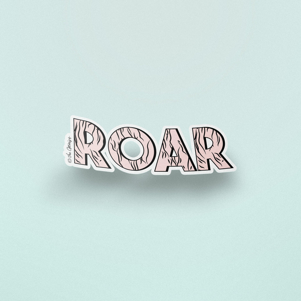 The Optimist Shop - Stickers / ROAR - Stickers