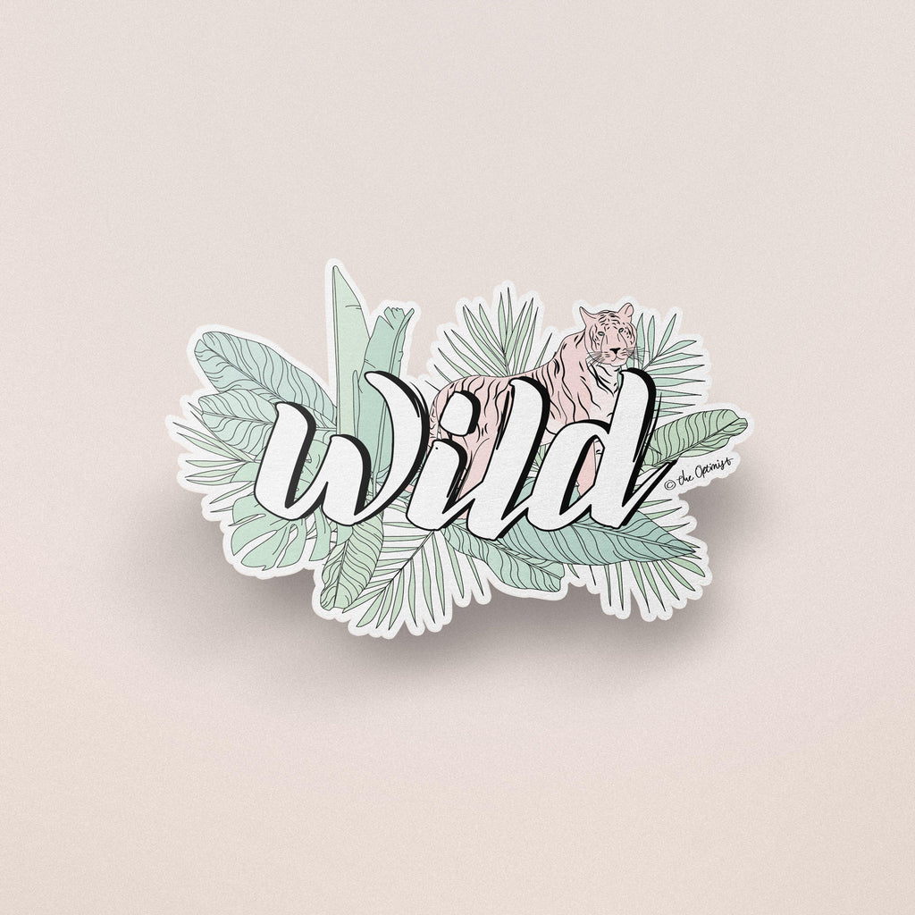 The Optimist Shop - Stickers / WILD - Stickers