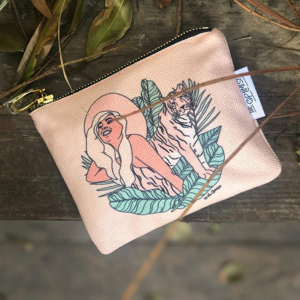 Carry-All Pouch / Animal Instinct - Tiger-Carry-All Pouch-The Optimist