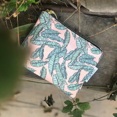 Carry-All Pouch / Jungle Leaves-Carry-All Pouch-The Optimist