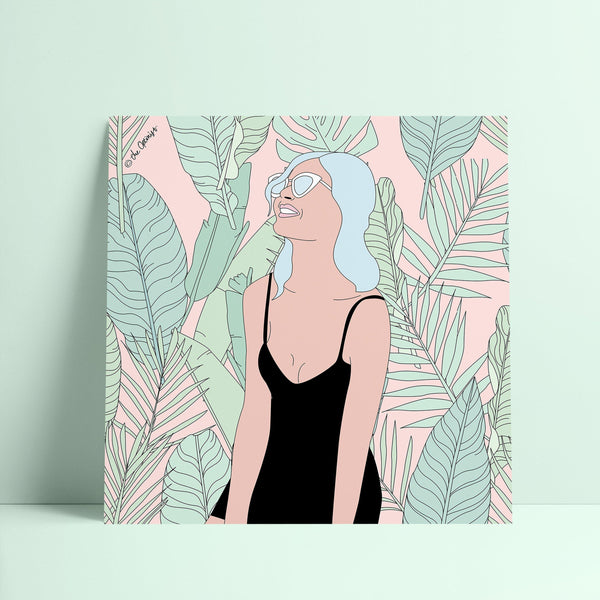 Giclée Art Print / ... And I'm Feeling Good