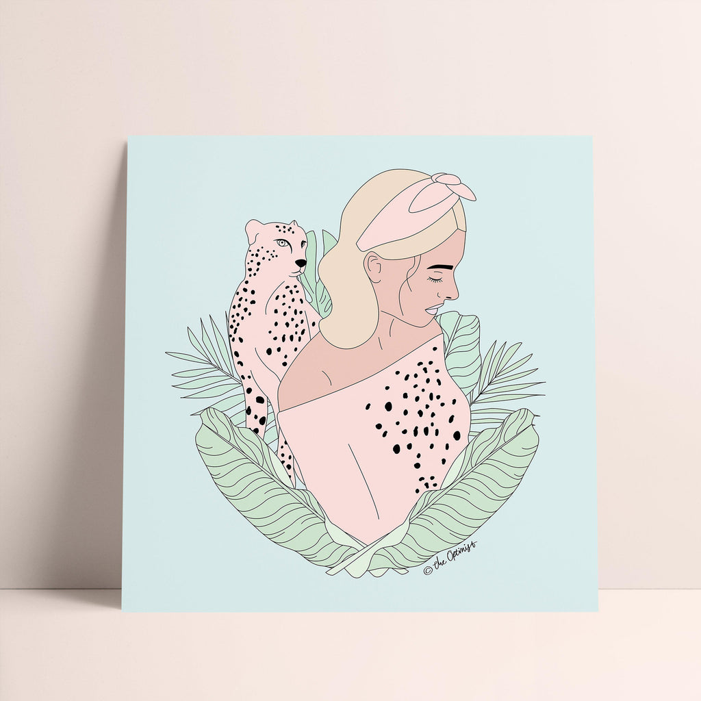 Giclée Art Print / Animal Instinct - Cheetah-Art Print-The Optimist