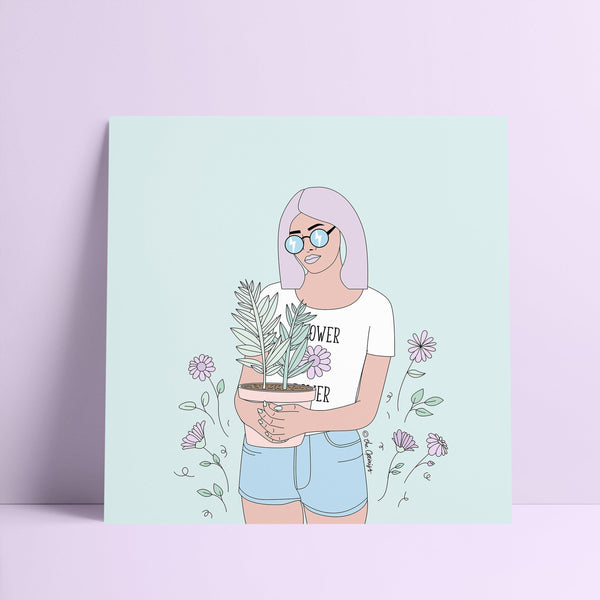 Giclée Art Print / Flower Power