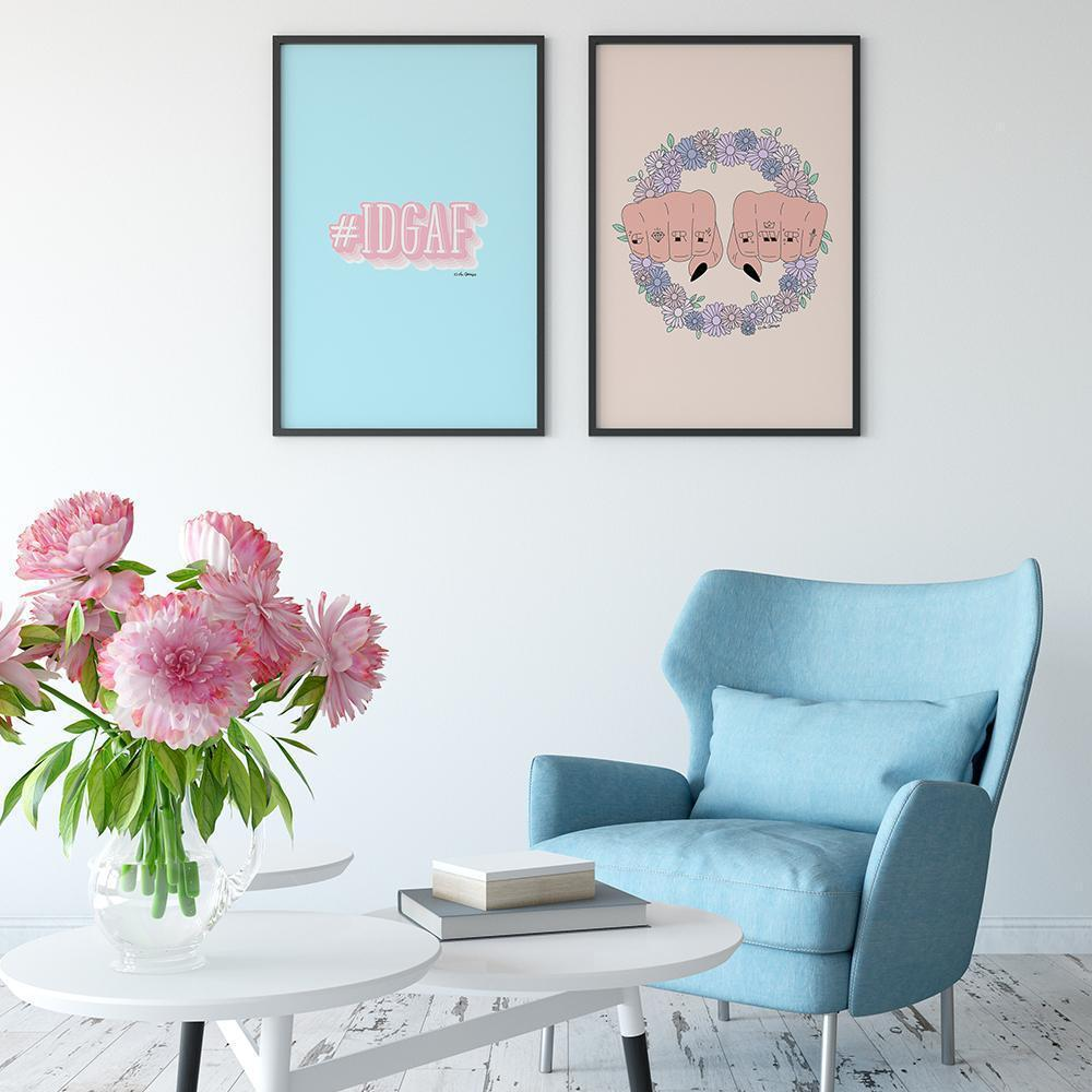 Giclée Art Print / GRL PWR-Art Print-The Optimist