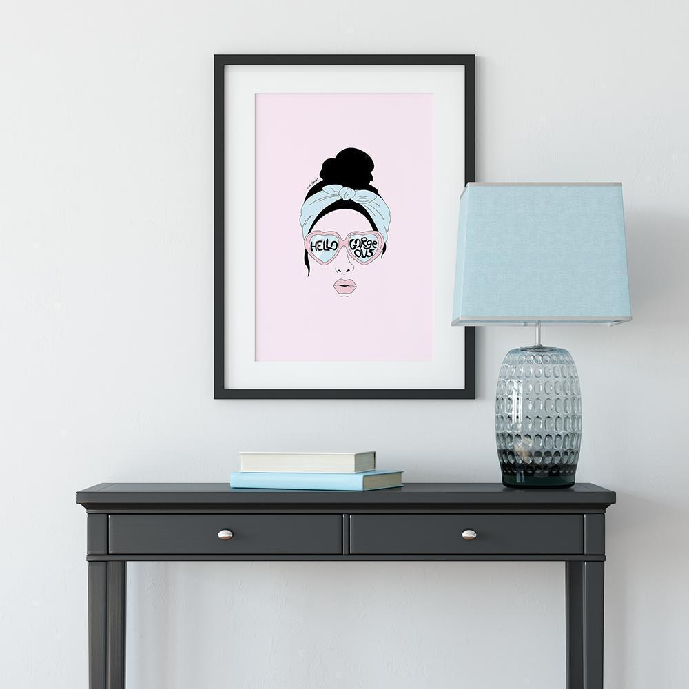 Giclée Art Print / Hello Gorgeous-Art Print-The Optimist