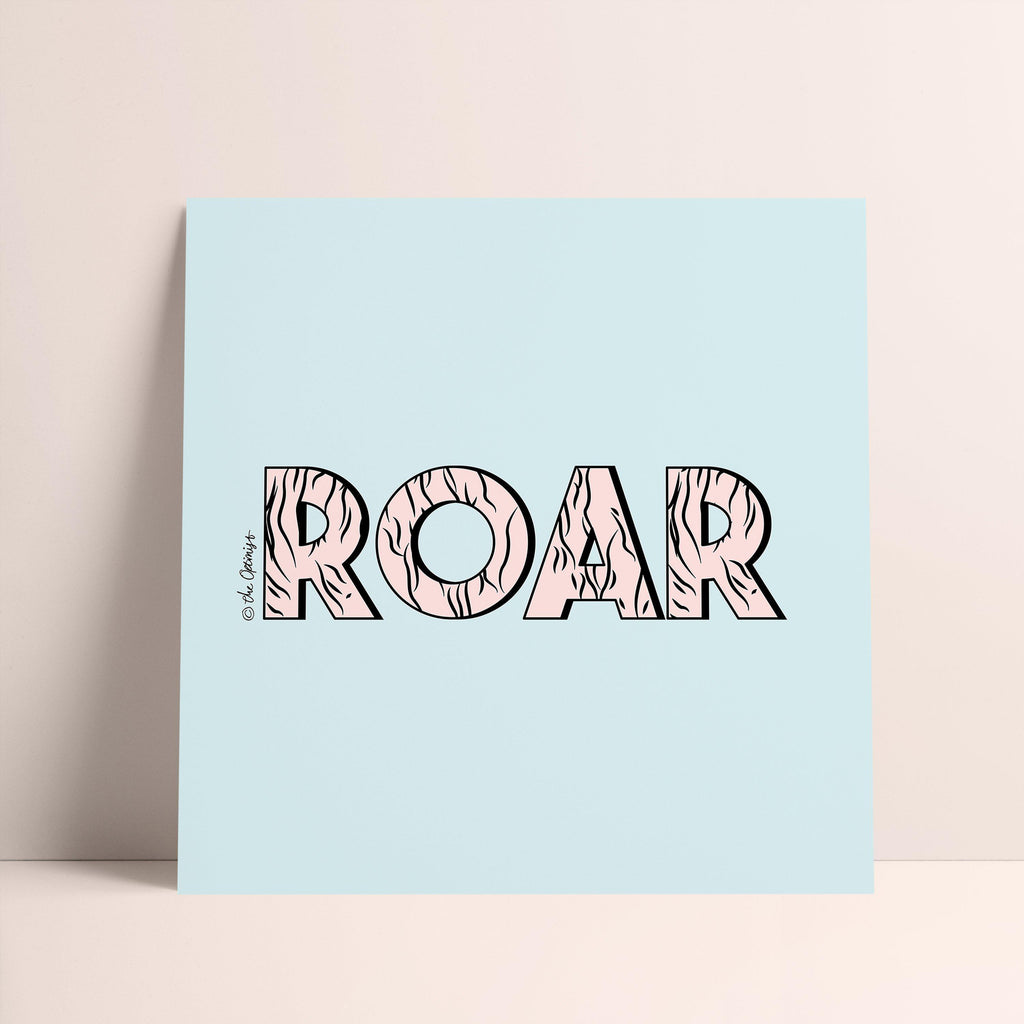 Giclée Art Print / ROAR-Art Print-The Optimist