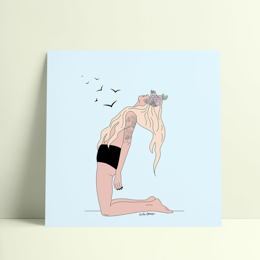 Giclée Art Print / Set Your Soul Free-Art Print-The Optimist