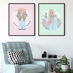 Giclée Art Print / Stop And Smell The Roses-Art Print-The Optimist