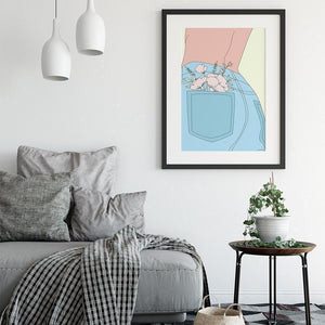 Giclée Art Print / Sunshine in My Pocket-Art Print-The Optimist