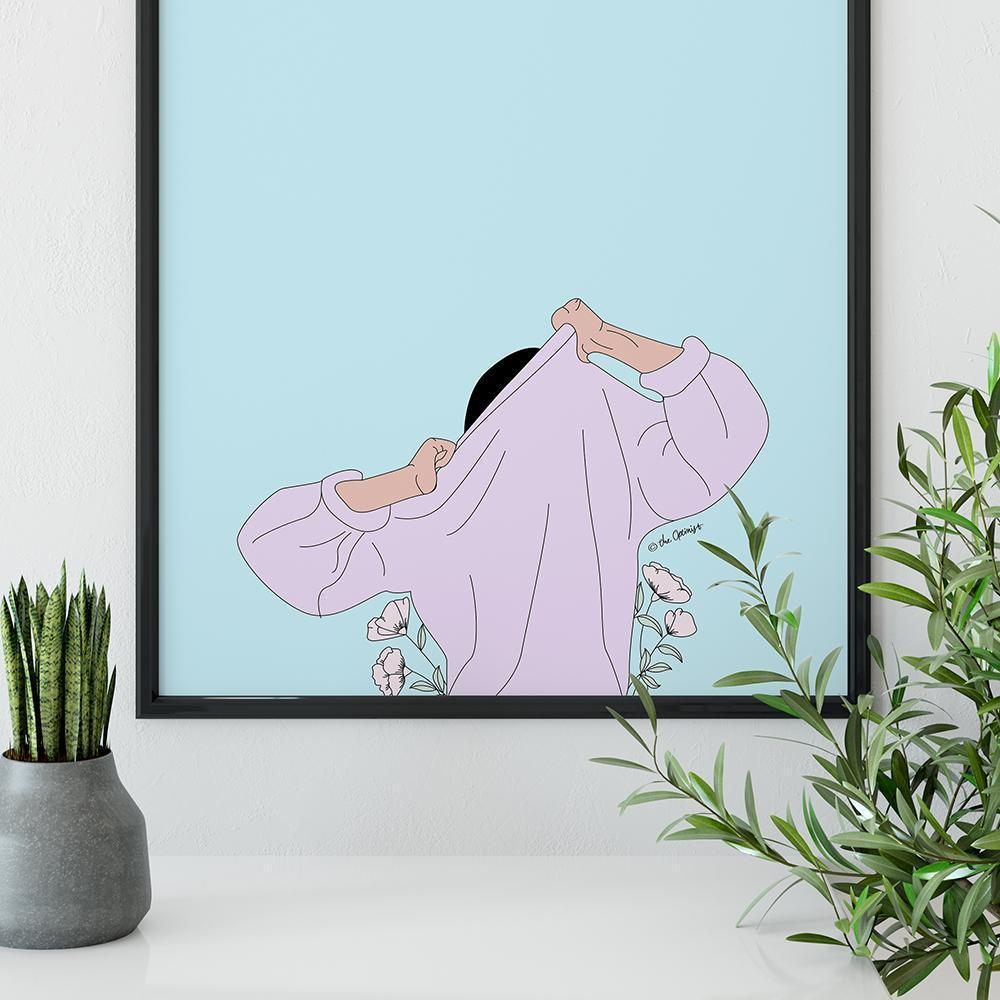 Giclée Art Print / The Struggle Is REAL-Art Print-The Optimist