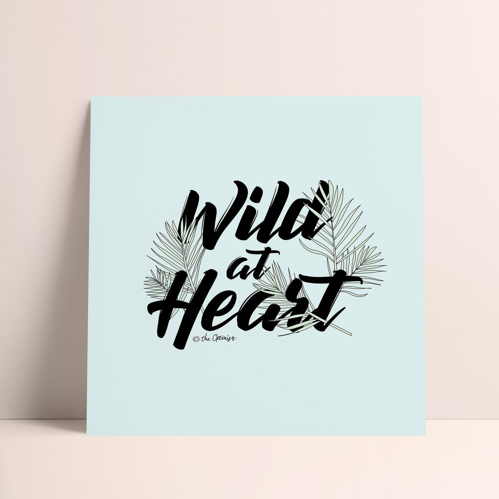 Giclée Art Print / Wild At Heart-Art Print-The Optimist