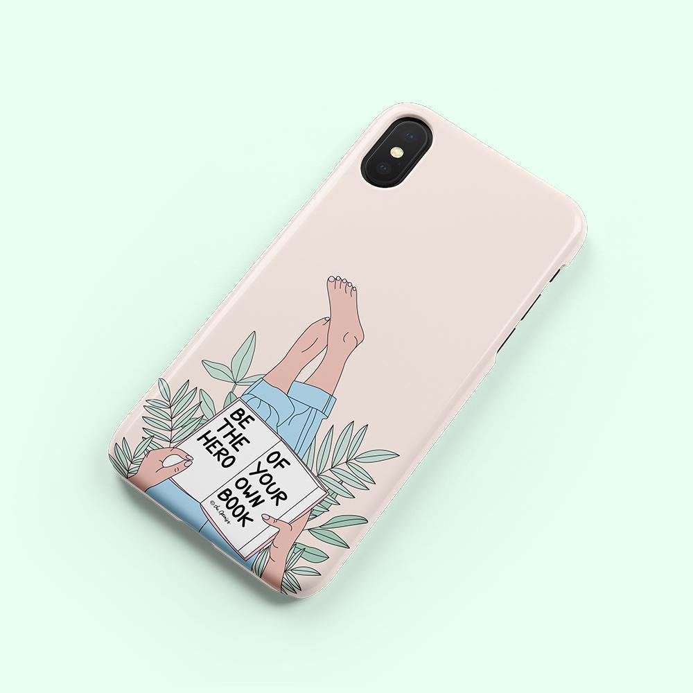 Phone Case / Be The Hero Of Your Own Book-Phone Cases-The Optimist