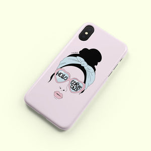 Phone Case / Hello Gorgeous-Phone Cases-The Optimist