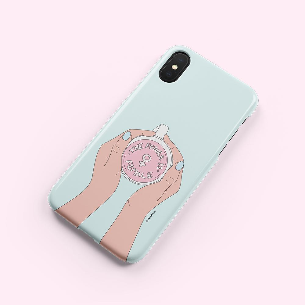 Phone Case / The Future Is Female-Phone Cases-The Optimist