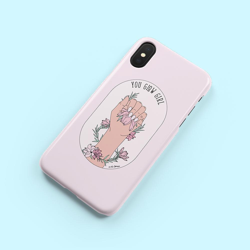 Phone Case / You Glow Girl-Phone Cases-The Optimist
