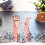 Placemat / Life Happens - Coffee Helps-Placemat-The Optimist