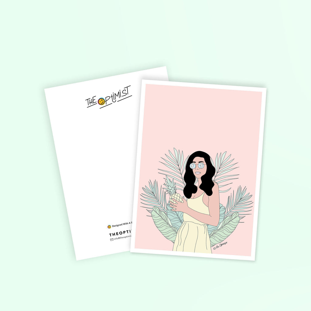 Postcards / Queen Of The Jungle-Postcard-The Optimist