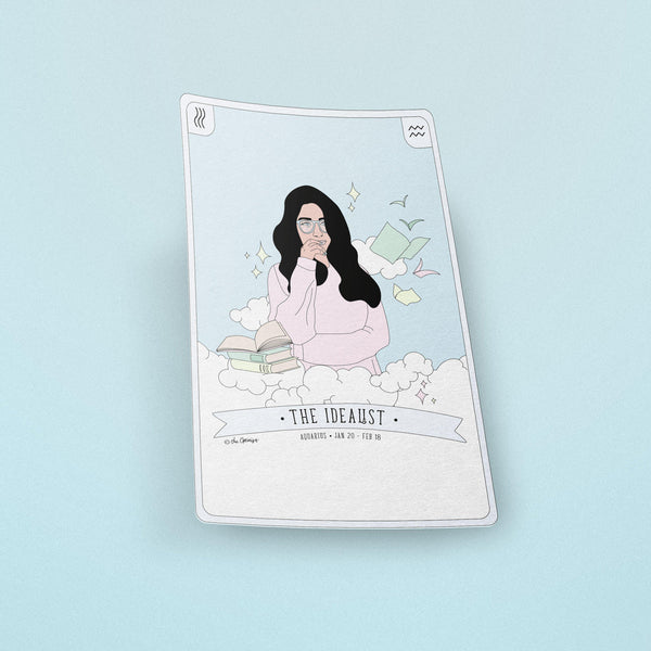 Stickers / Aquarius - The Idealist
