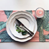 Table Runner / Jungle Leaves-Table Runner-The Optimist